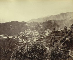 [General view of] Mussoorie. 64